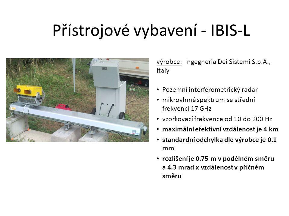 Přístrojové vybavení - IBIS-L