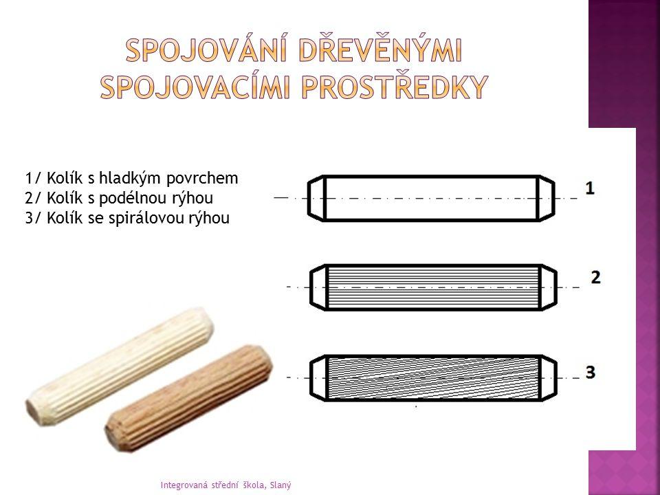 Spojování dřevěnými spojovacími prostředky