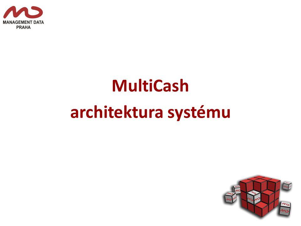 MultiCash architektura systému