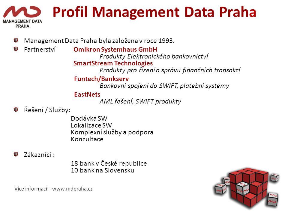 Profil Management Data Praha