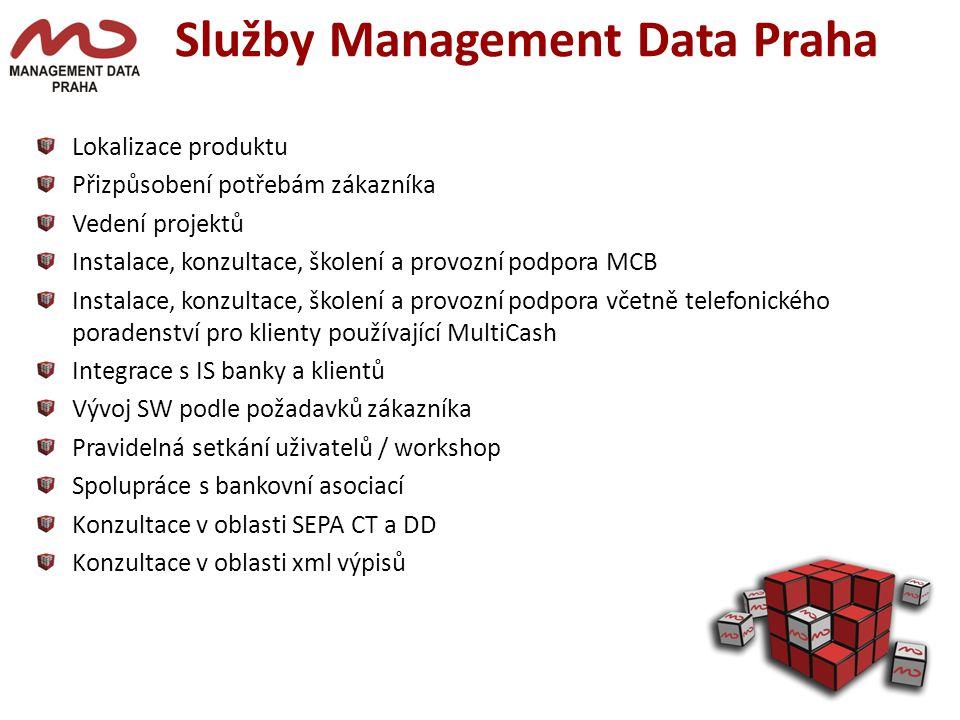 Služby Management Data Praha
