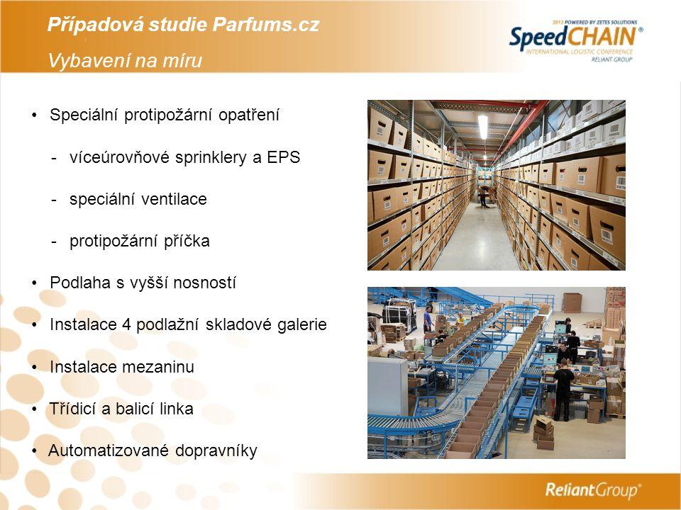 Případová studie Parfums.cz Vybavení na míru