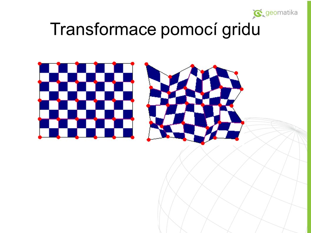 Transformace pomocí gridu