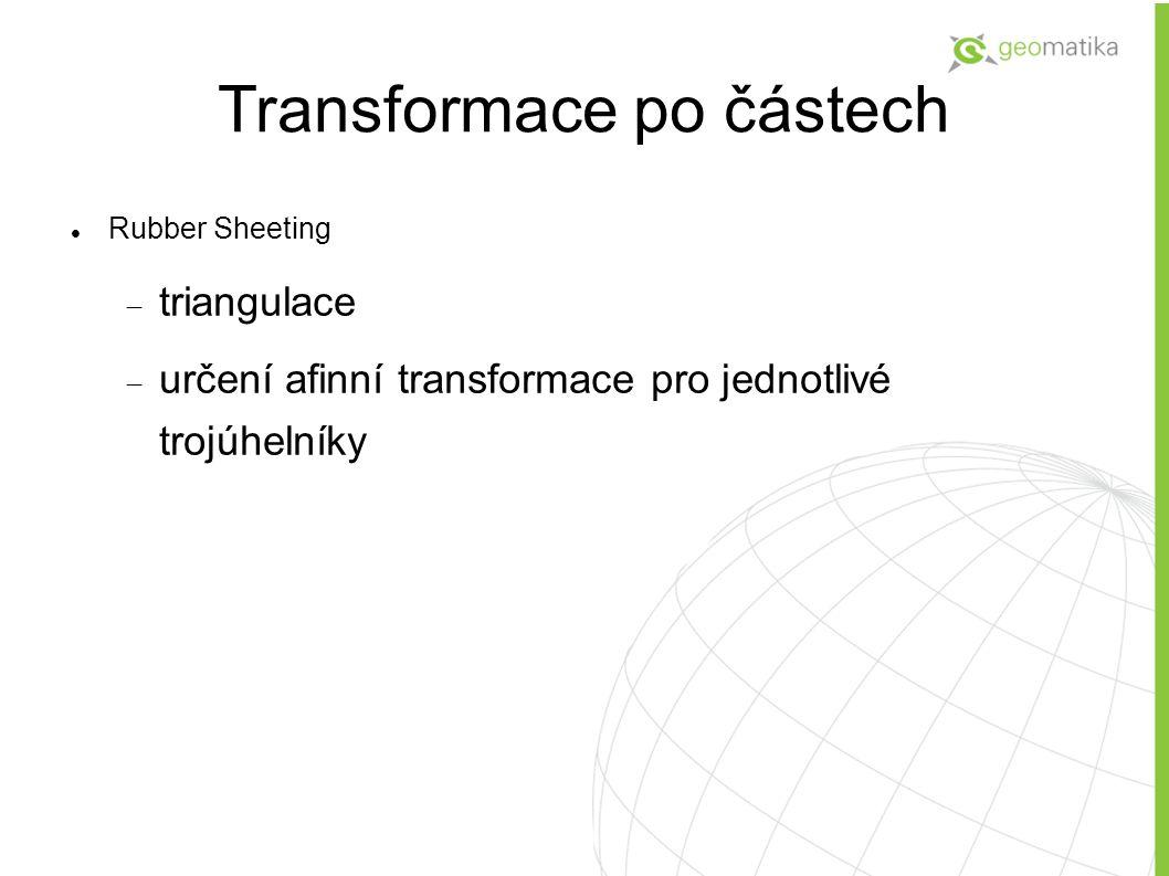 Transformace po částech