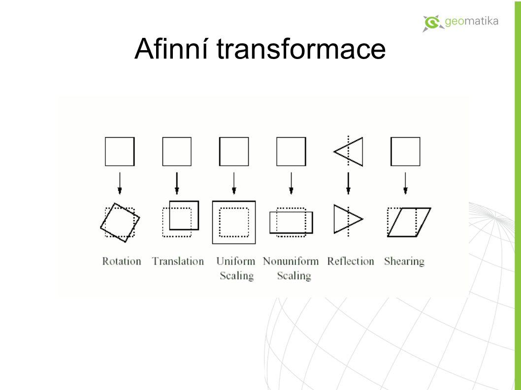 Afinní transformace 5