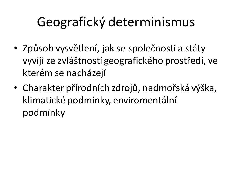 Geografický determinismus
