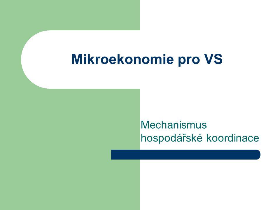 Mechanismus hospodářské koordinace