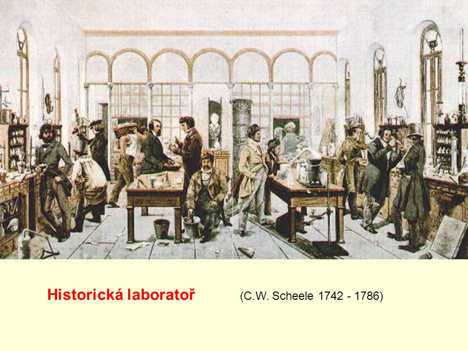 Historická laboratoř (C.W. Scheele 1742 - 1786)