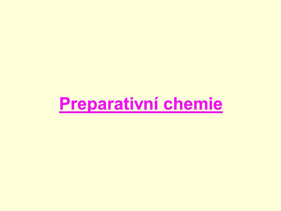 Preparativní chemie