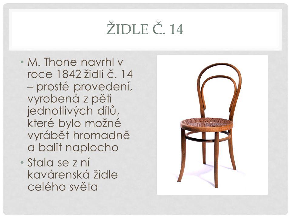 Židle č. 14