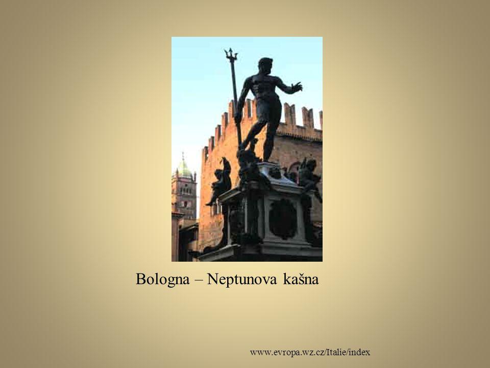 Bologna – Neptunova kašna