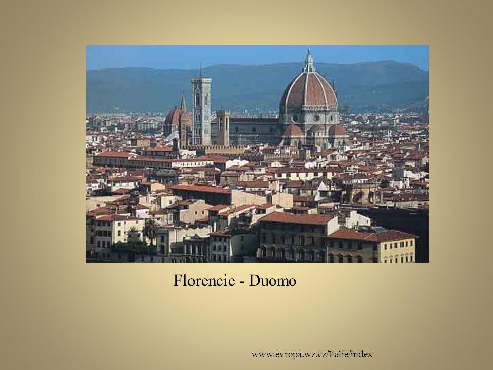 Florencie - Duomo www.evropa.wz.cz/Italie/index