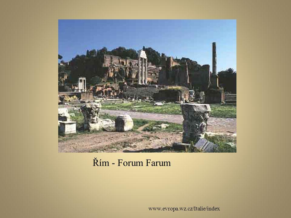 Řím - Forum Farum www.evropa.wz.cz/Italie/index