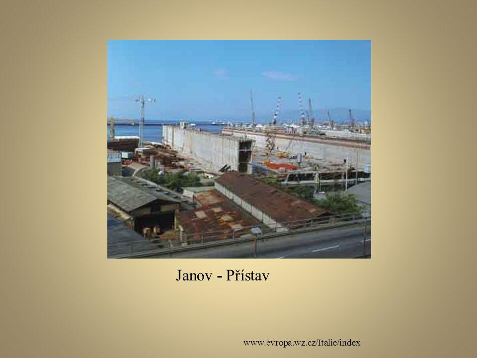 Janov - Přístav www.evropa.wz.cz/Italie/index