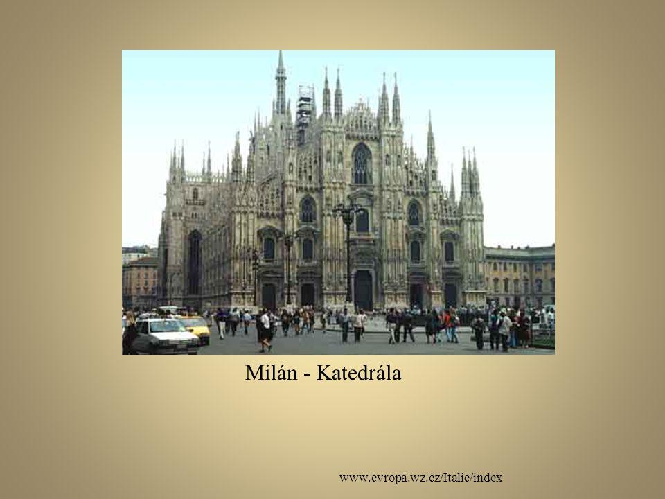Milán - Katedrála www.evropa.wz.cz/Italie/index