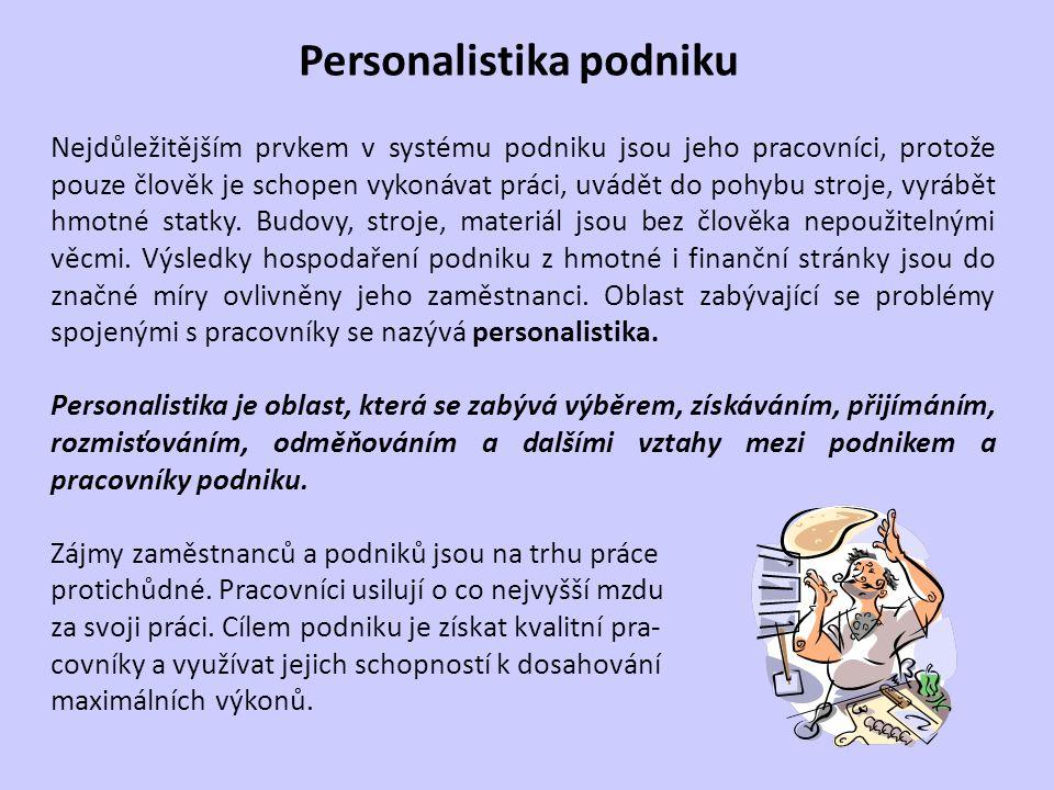 Personalistika podniku