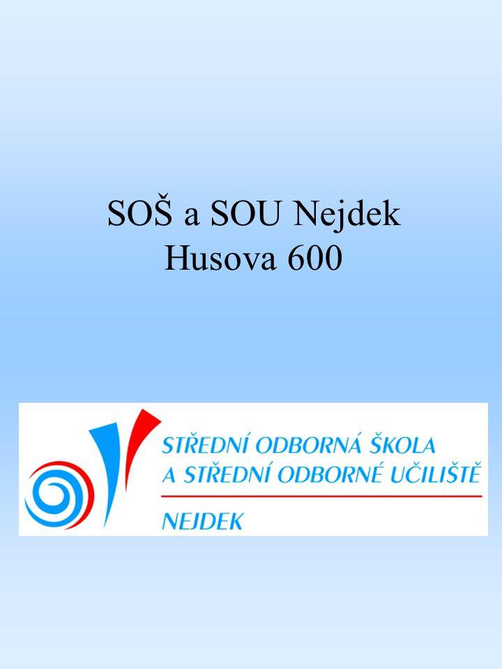 SOŠ a SOU Nejdek Husova 600