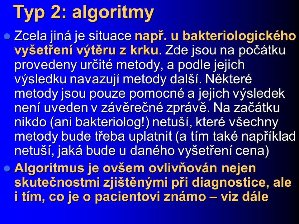 Typ 2: algoritmy