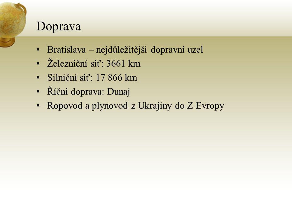 Doprava Bratislava – nejdůležitější dopravní uzel