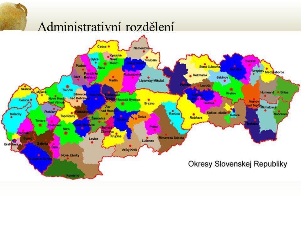 Administrativní rozdělení