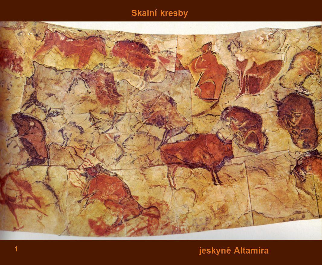 Skalní kresby jeskyně Altamira