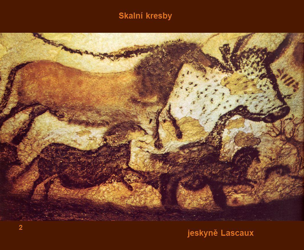 Skalní kresby jeskyně Lascaux