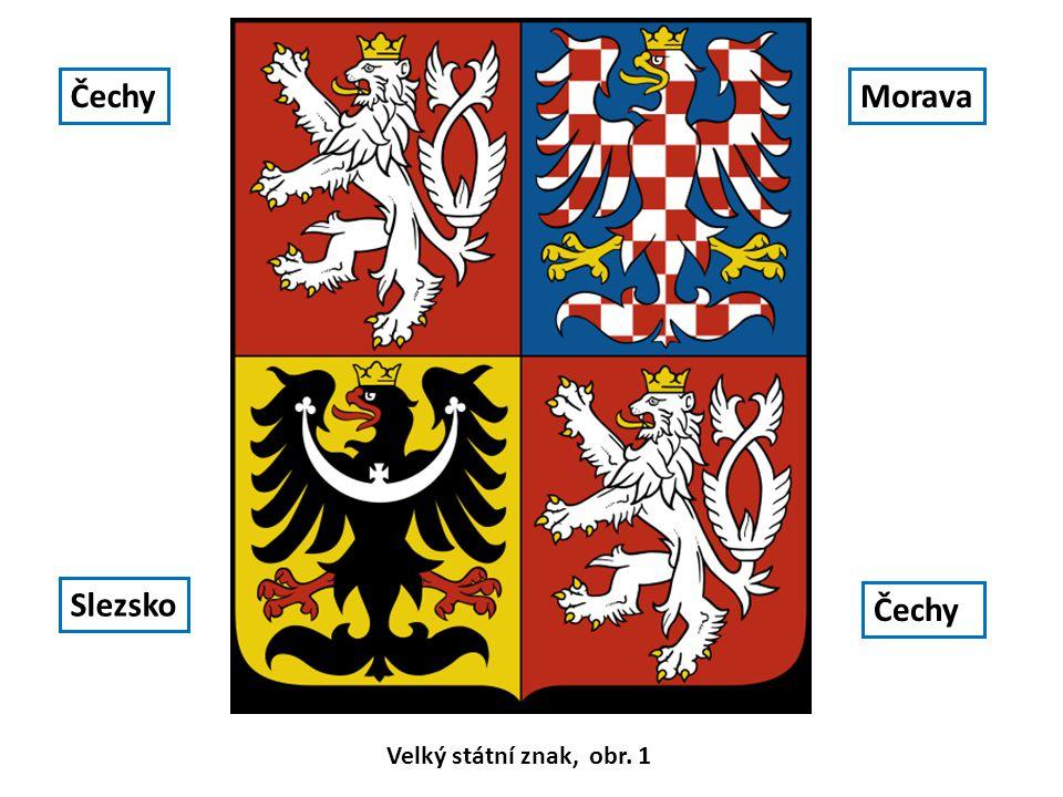 Čechy Morava Slezsko Čechy Velký státní znak, obr. 1