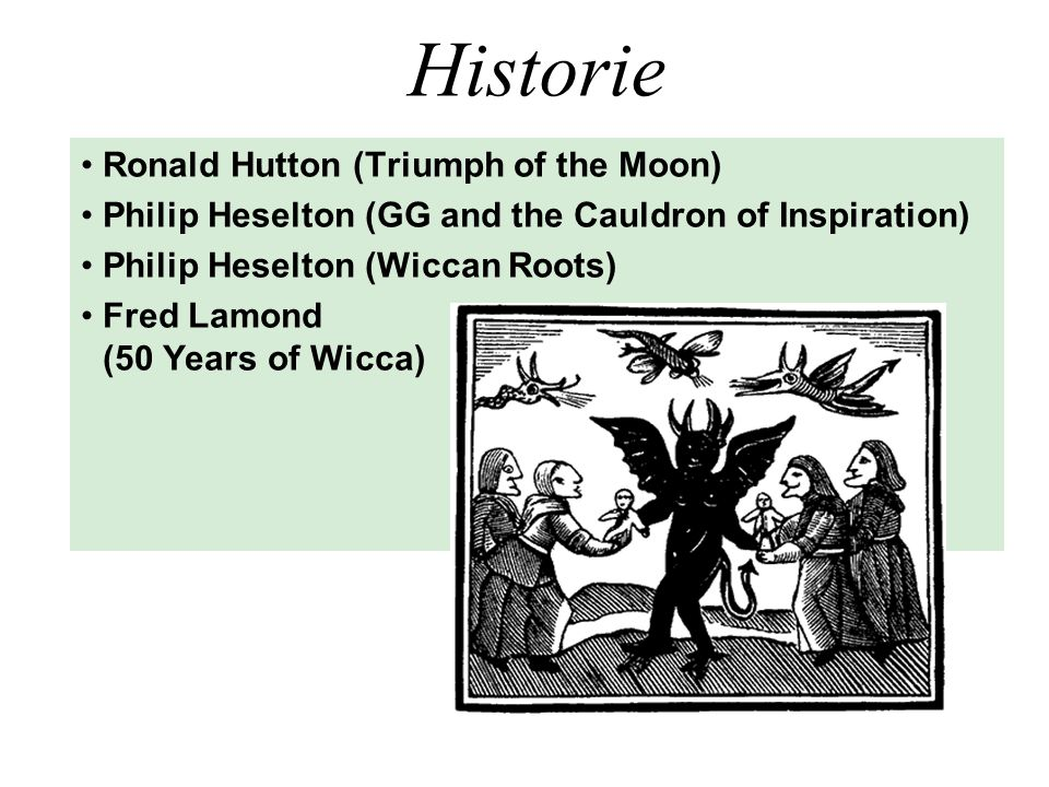 Historie Ronald Hutton (Triumph of the Moon)