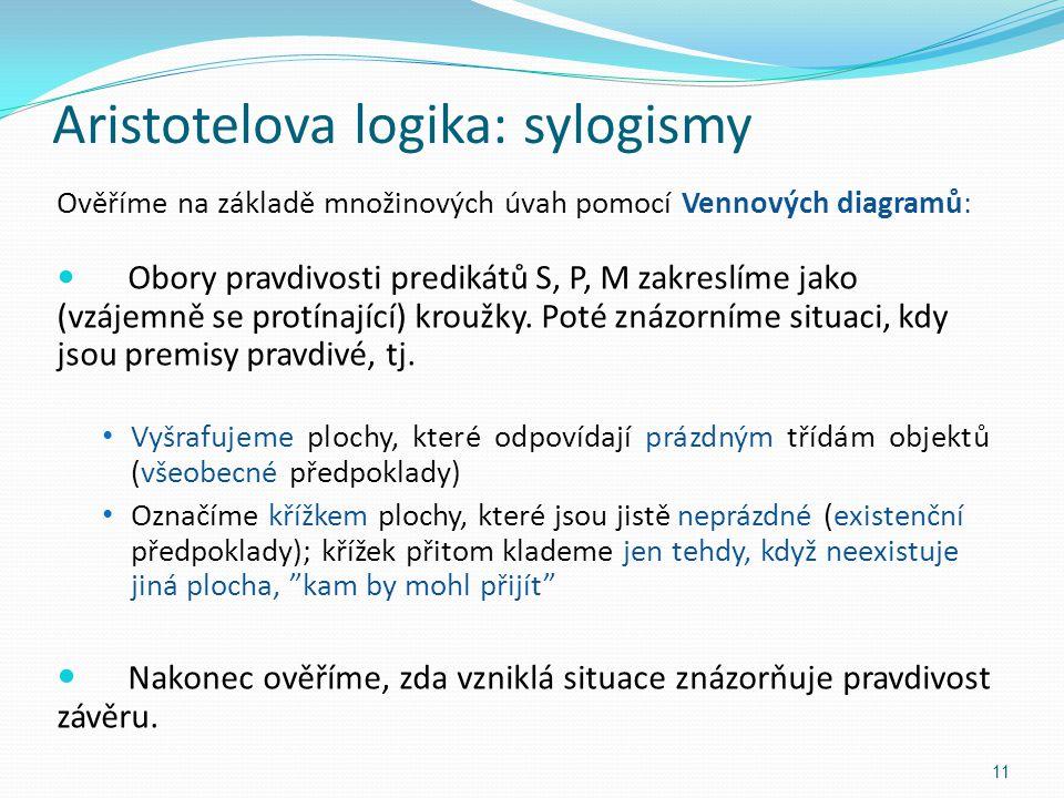 Aristotelova logika: sylogismy