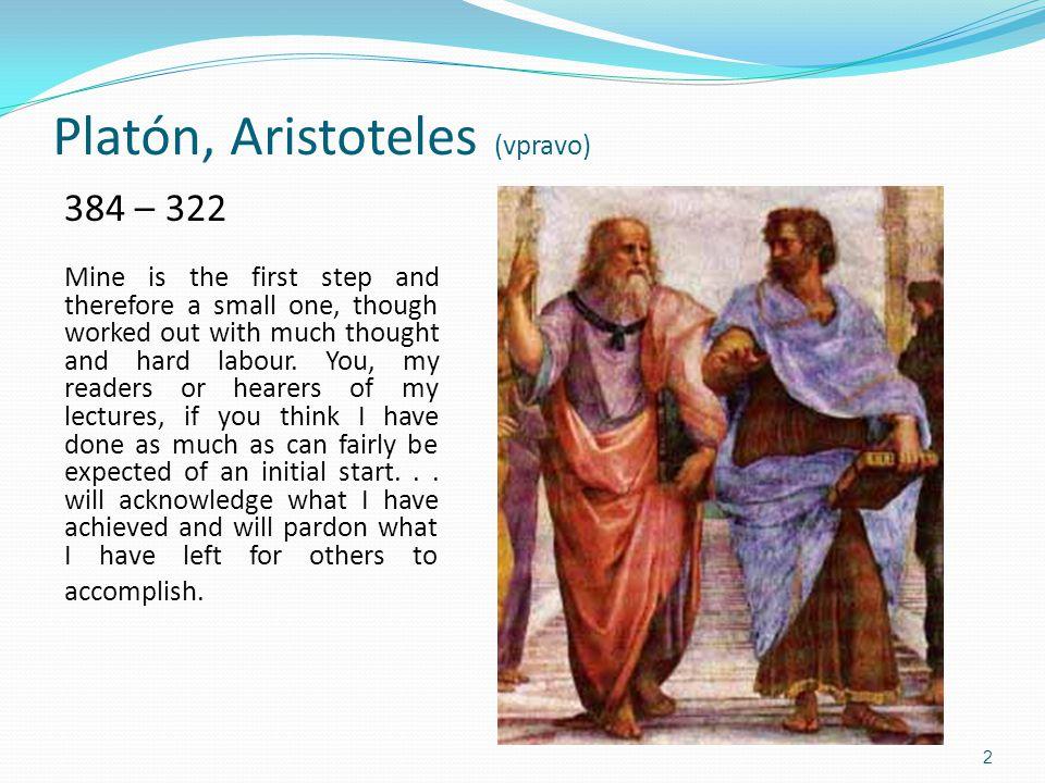 Platón, Aristoteles (vpravo)