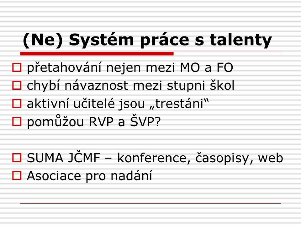 (Ne) Systém práce s talenty