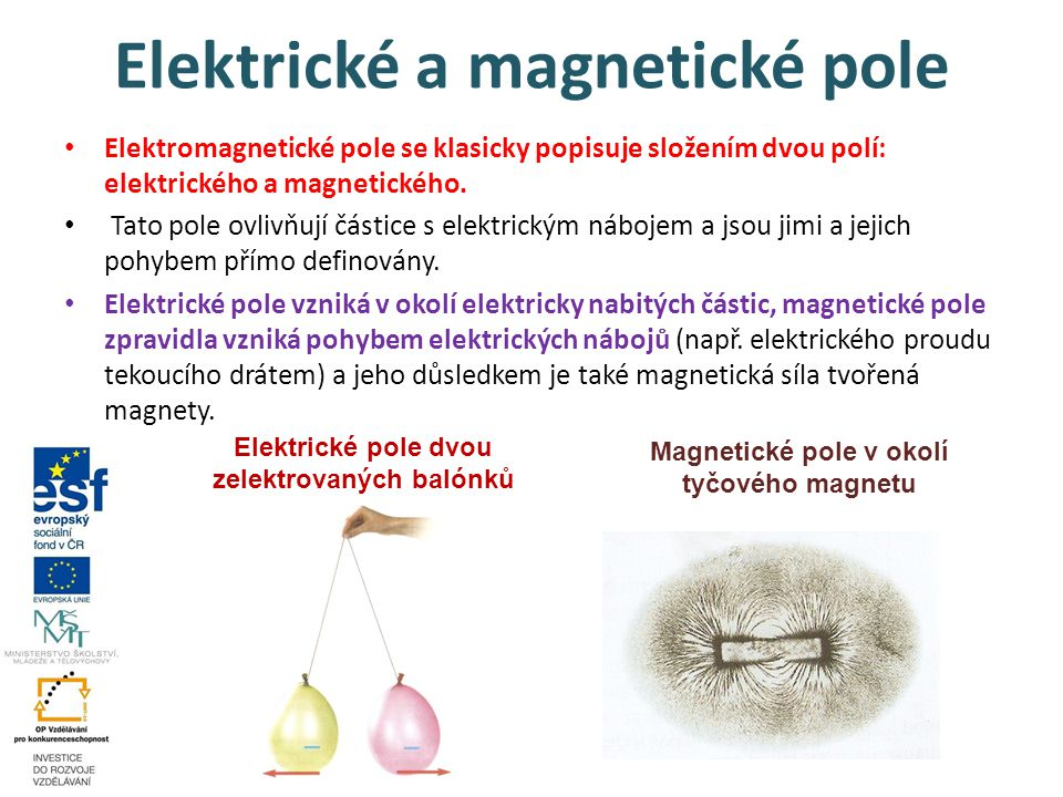 Elektrické a magnetické pole