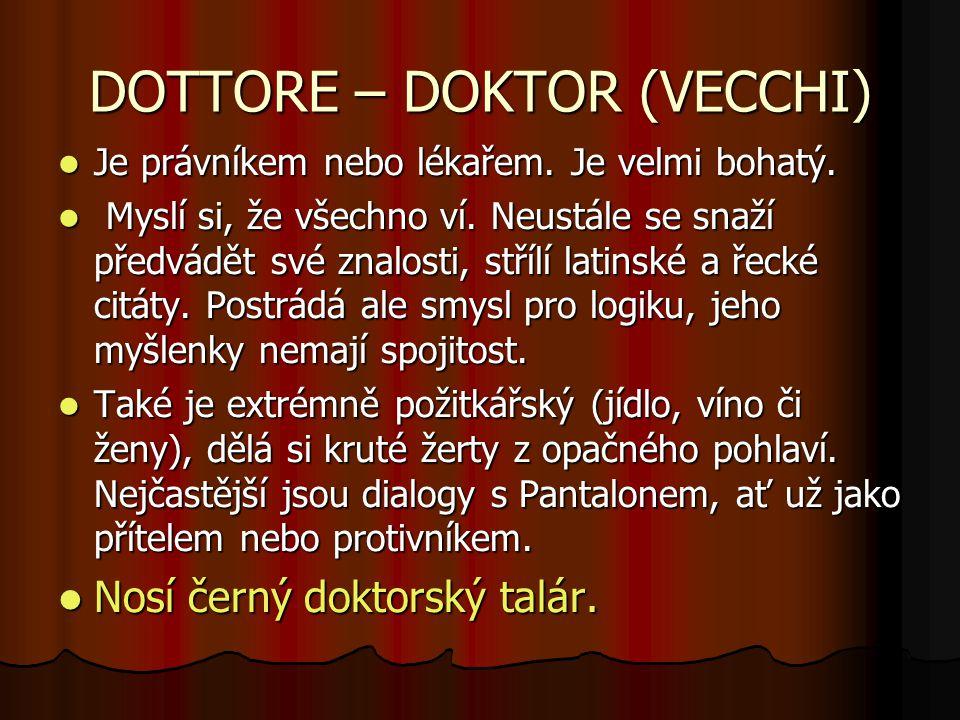 DOTTORE – DOKTOR (VECCHI)