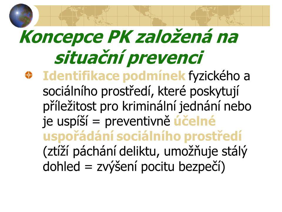 Koncepce PK založená na situační prevenci