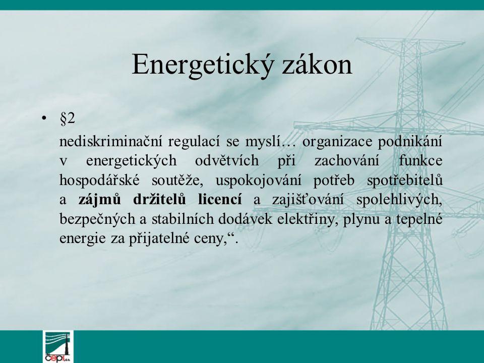 Energetický zákon §2.