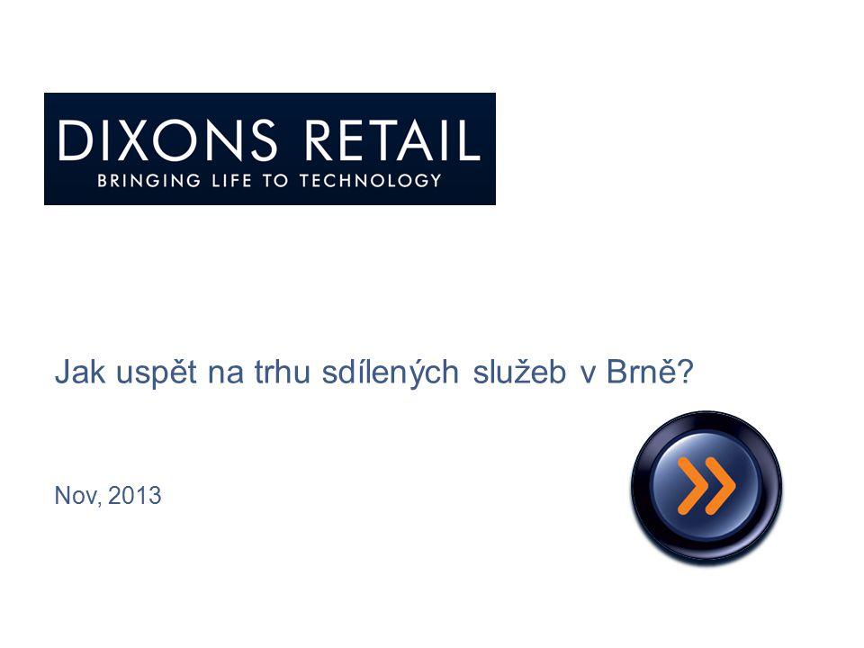 Jak uspět na trhu sdílených služeb v Brně
