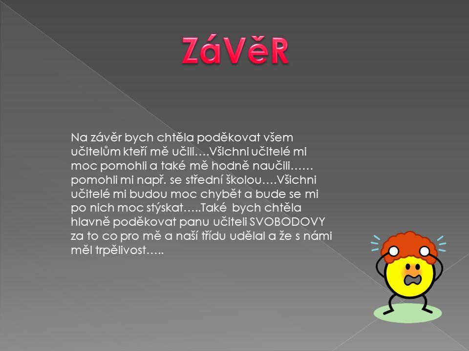 ZáVěR