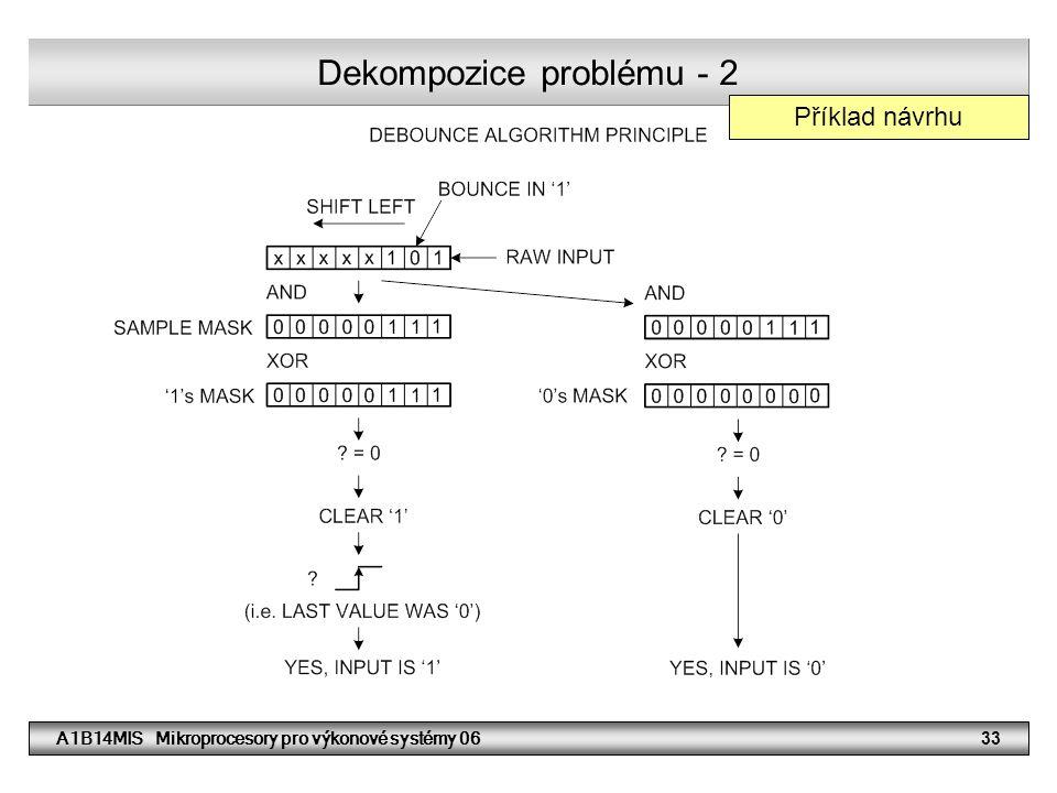 Dekompozice problému - 2