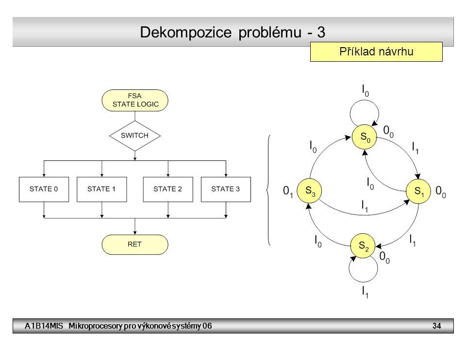 Dekompozice problému - 3