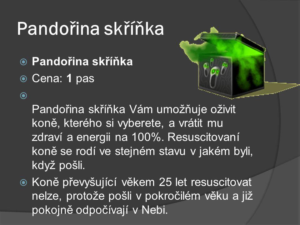 Pandořina skříňka Pandořina skříňka Cena: 1 pas
