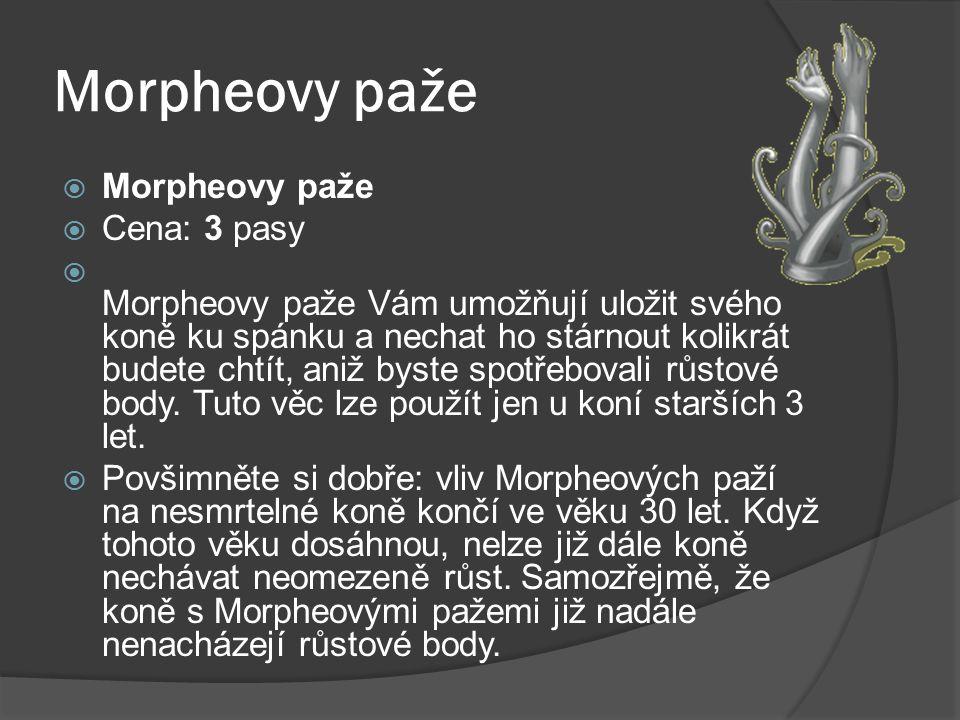 Morpheovy paže Morpheovy paže Cena: 3 pasy