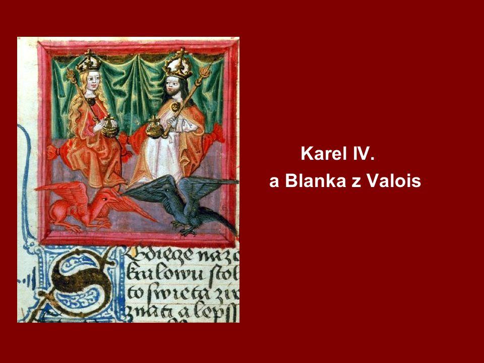 Karel IV. a Blanka z Valois