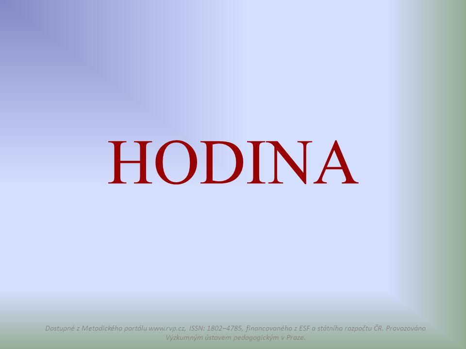 HODINA
