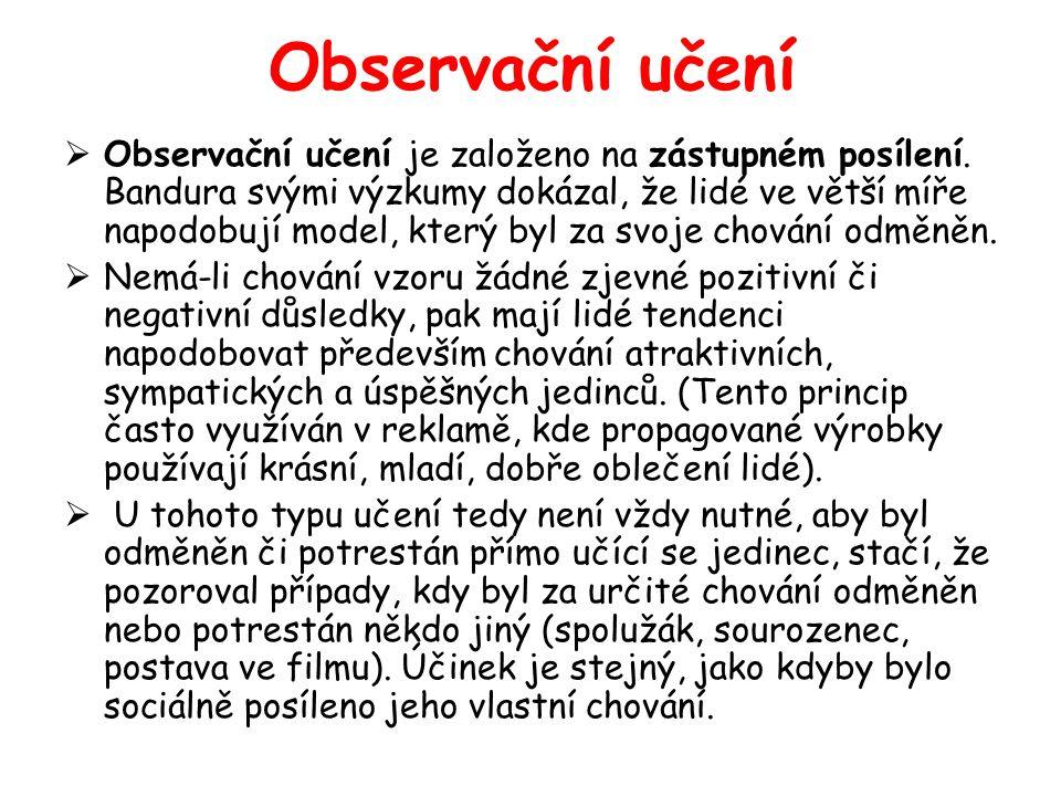 Observační učení