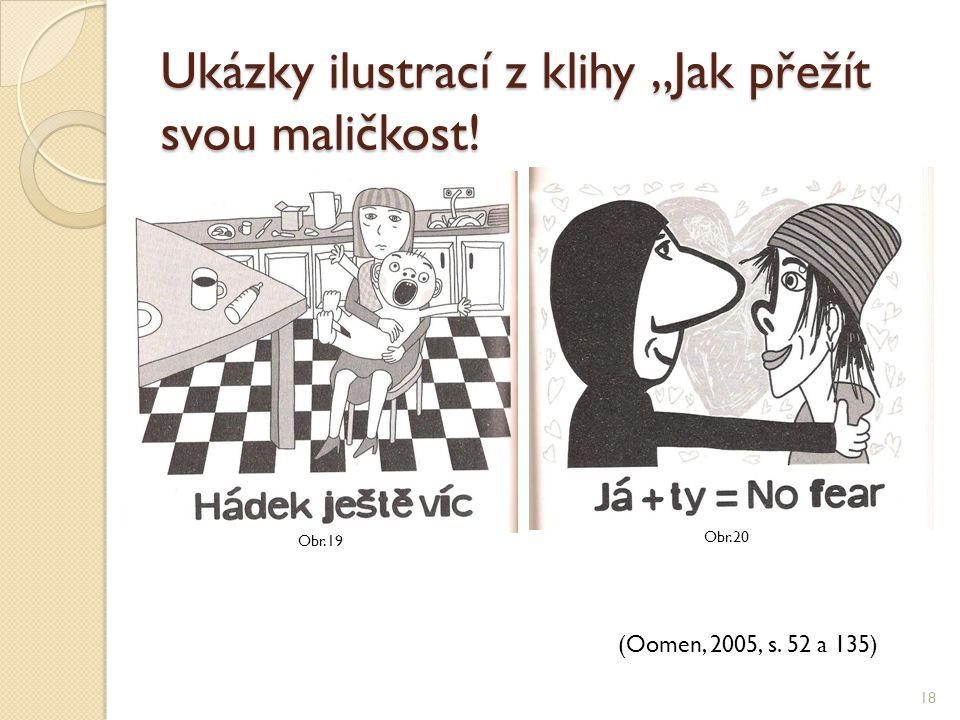 """Ukázky ilustrací z klihy """"Jak přežít svou maličkost!"""