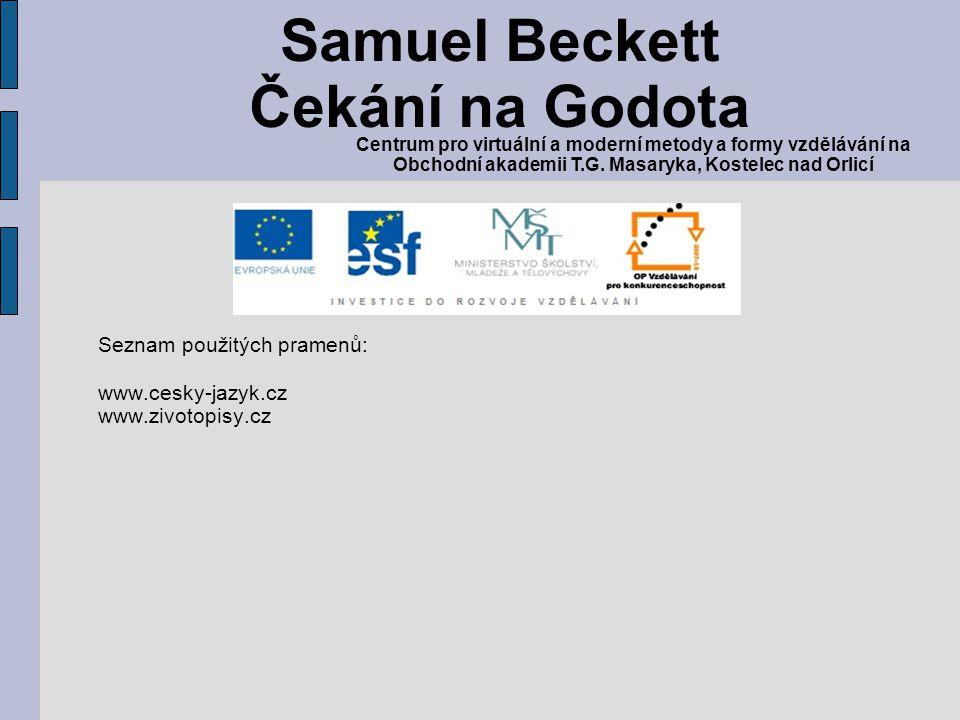Samuel Beckett Čekání na Godota