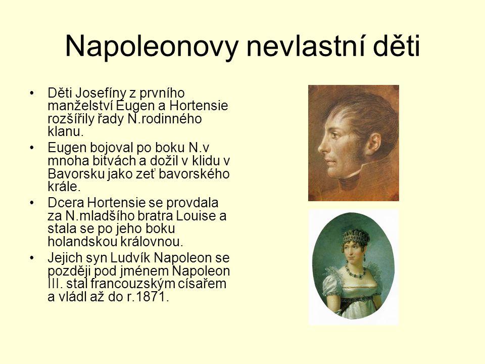 Napoleonovy nevlastní děti