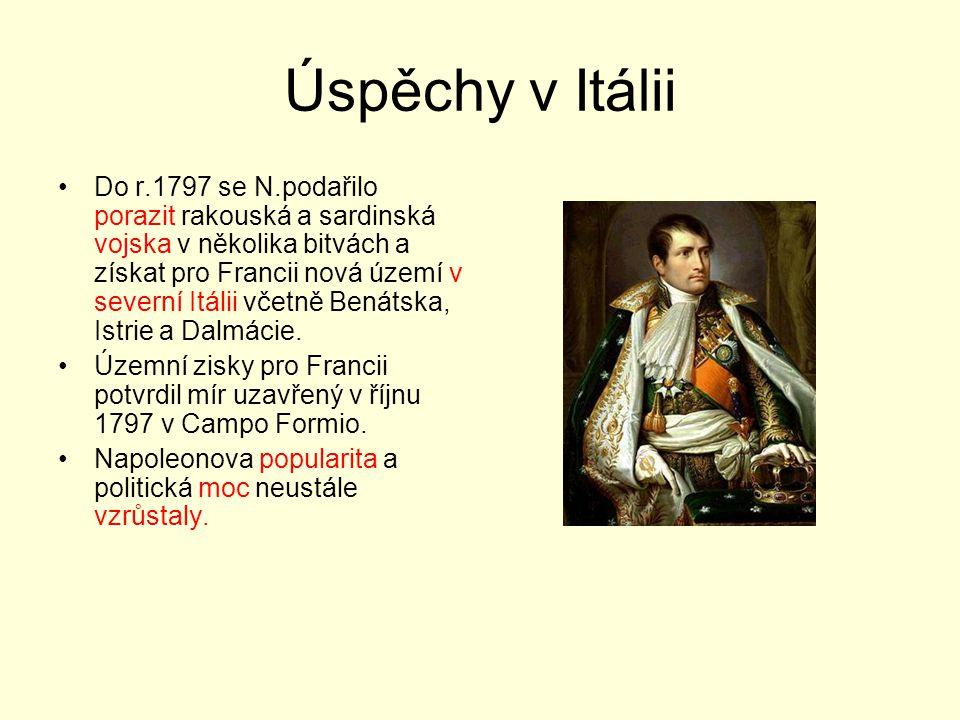 Úspěchy v Itálii