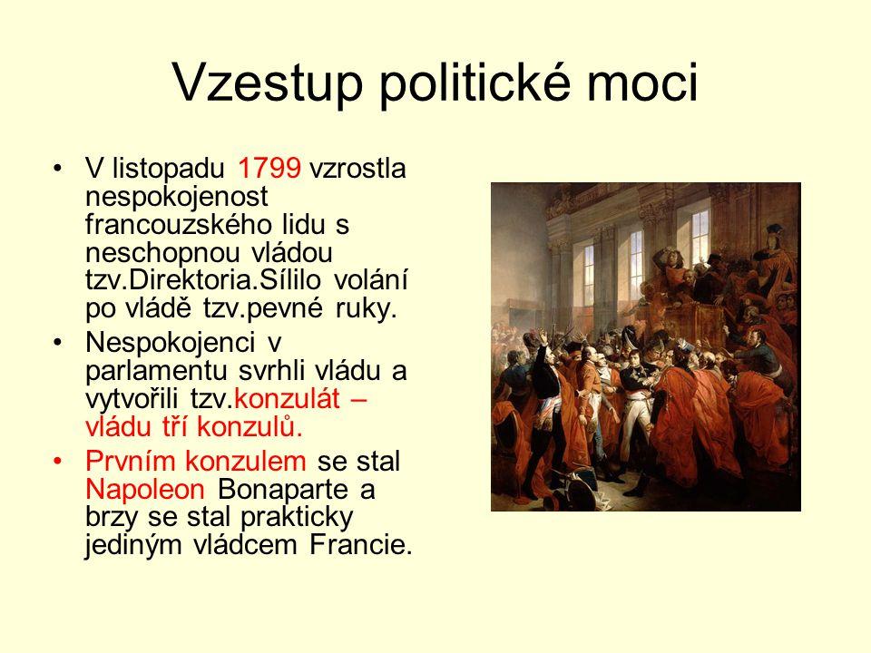 Vzestup politické moci