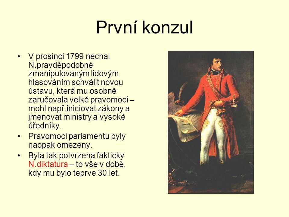 První konzul